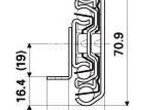 TITAN E (103-155 kg/pair) with Fail-Safe Anti Rebound