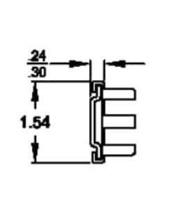 Solid Section C-3700 (27-38kg/pr) Lock Out & Detach