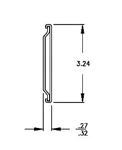 Solid Section C-917 (57-63kg/pr) Lock Out & Detach