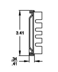 Solid Section C-230S (57-63kg/pr) Lock Out & Detach
