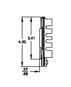Solid Section CTRS (79kg/pr) Lock Out & Detach