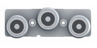 FlexFit 1529 Modular System: Stainless Steel Linear Rail Carrier