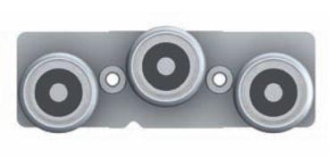 FlexFit 1537 Modular System: Stainless Steel Sealed Bearing Carrier