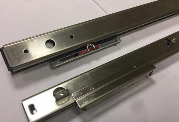3522 OAT 450mm Freezer Slide: Stainless 304. Pair