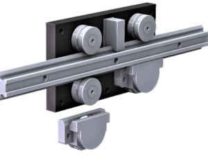 4080.LGV76XL  P1 Steel Linear Rail  6,400-10,000N radial load/slide