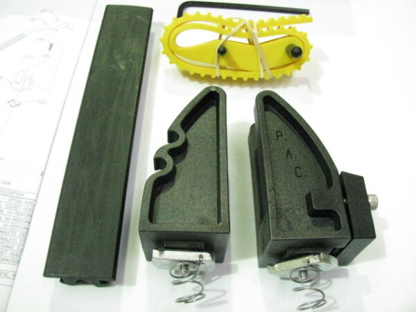 Adjustamount - Versatile, adjustable mounting bracket for larger tools - YELLOW STRAP