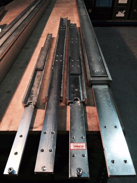 DTSB-70 (190 -650 kg) Full Ext'n Bi-Direction
