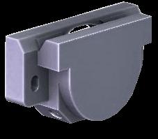 LGV44 Carriage. Twin Bearing. Load Fy 3,200 / Fz 2,800 N