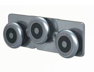 FlexFit 1529 Modular System: Plated Steel Linear Rail