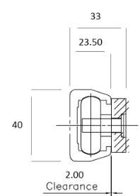ALRS Aluminium Linear Rail  (Rail Only)