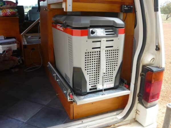 Container Red Base Mount: Config A