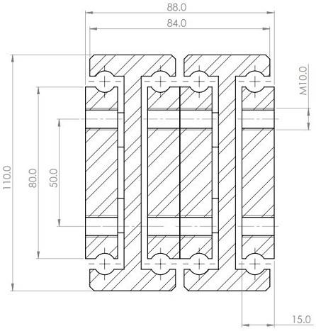 DDTS-110 (300-1080kg) Super Extension 200%
