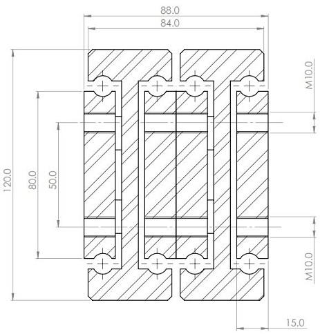 DDTS-120 (330-1232kg) Super Extension 200%