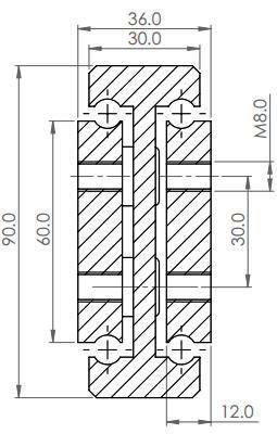 DTS-90 Full Extension (630-1125 kg/pair)