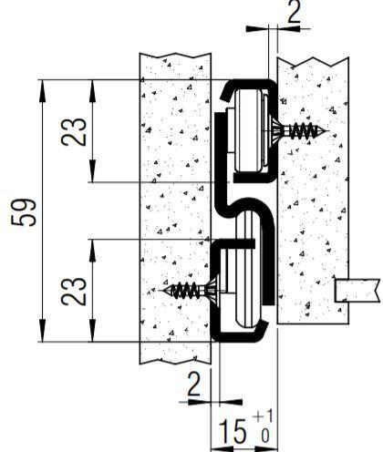 FR6010B SCC (50kg) Stainless Steel Full Ext'n. Side Mount (Bearing)