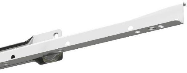 FR2021 (35kg) Steel Partial Ext'n. White Powder Coated