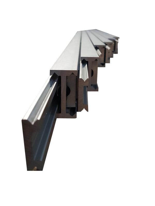 Radial Goliath Slide 5299 (50kg) Aluminium - Multiple Extension