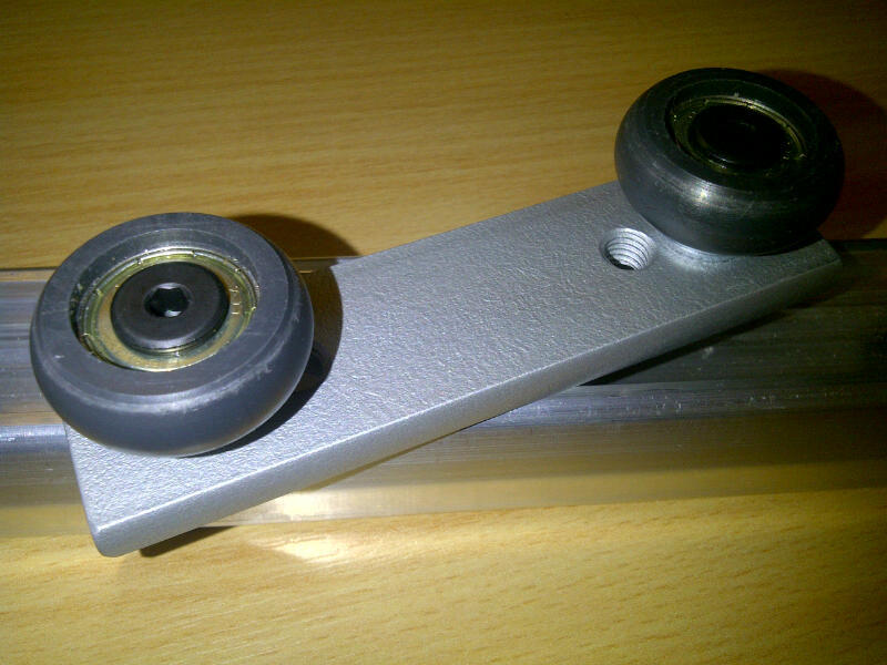 ALRS Steel Carrier: 2 Bearing (For ALRS Rail)