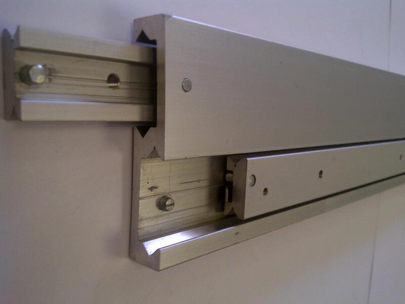 Radial Slide 6414 (10-30kg) Aluminium. Crossed Roller Bearings