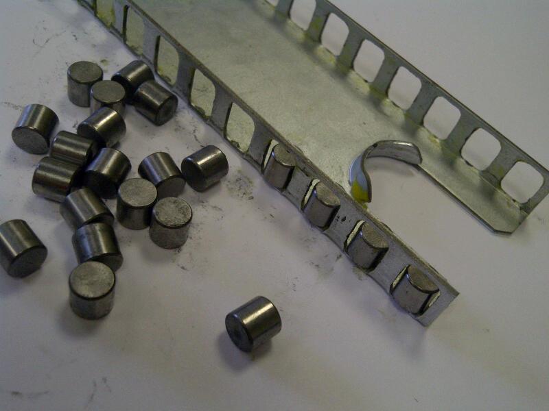 Radial Slide 5229 (135-220kg) Aluminium. Crossed Roller Bearings