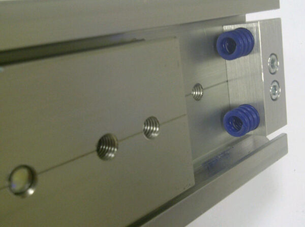 Radial Slide 8045 (300-400kg) Aluminium. Crossed Roller Bearings