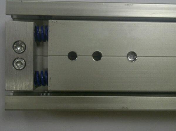 Radial Slide 8026 (220-300kg) Aluminium. Crossed Roller Bearings