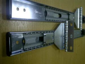 """Over top pocket door slide 14""""   Length 356mm. Travel 273mm. Pair"""