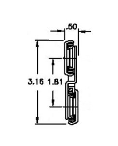 Chassis Trak LBS-O-LO (34-82kg/pr) Lock Out
