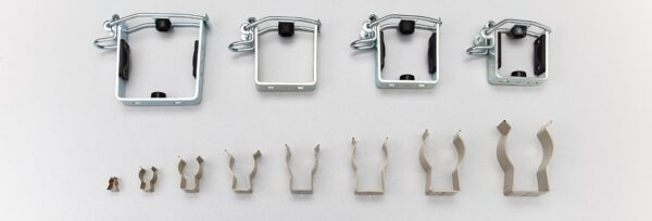 60mm Stainless Steel Spring Tool Clip