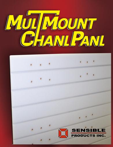MulTMount Chanl Panl - Truck Interior Mounting Panels