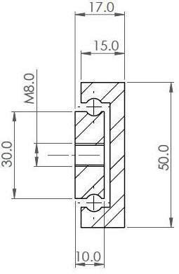OWS-50 Partial Ext'n (220-350 kg/pair)