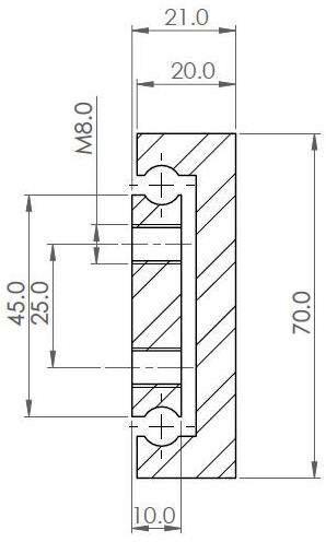 OWS-70 Partial Ext'n (300-500 kg/pair)