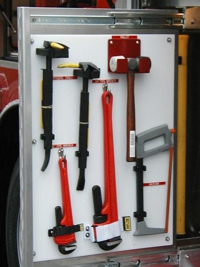 """MLT1 Mallet & Wrench Bracket. Width 1.5"""" (38mm)"""