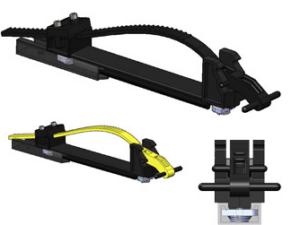 Adjustamount - Versatile, adjustable mounting bracket for larger tools - YELLOW STRAP