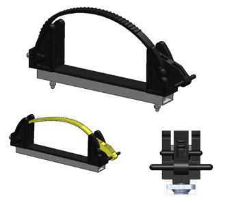 Ext. Super Adjustamount  (black strap)  1060B