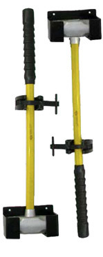Sledge Hanger / Pocket - A secure mounting bracket for sledge hammers