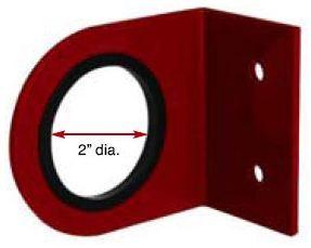 "RCB Ring Handle Bracket. 2"" Dia. (50.8mm)"
