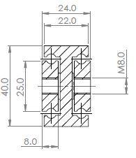 SDTS-40 Stainless Steel 316L (100-250 kg/pr) - Full Ext'n