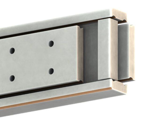 SDTSB-90 Stainless 316L (630-1125 kg/pr) Full Ext'n Bi-Direction