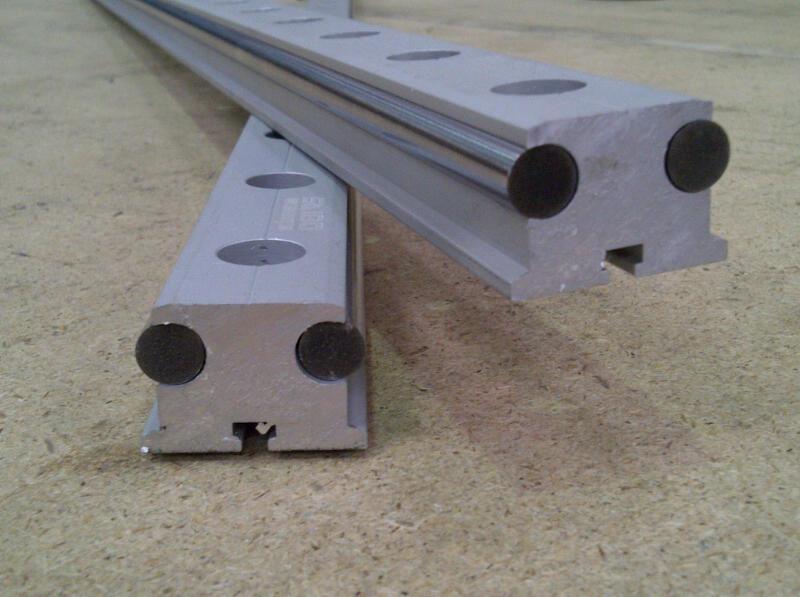 LGA100  Profile Hardened Linear Rail (Rail Only)
