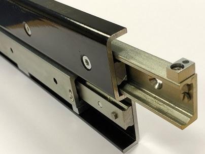 TFS-43 Full Extension (2061-4908 N radial load/slide) Hardened