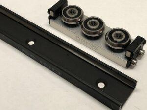TCA-43 Slider for TV-43 Alloy Body & Wiper Rad/Load 5515-6540 N